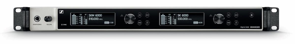 Sennheiser SpeechLine Digital Wireless, Digital 6000 oraz Digital 9000