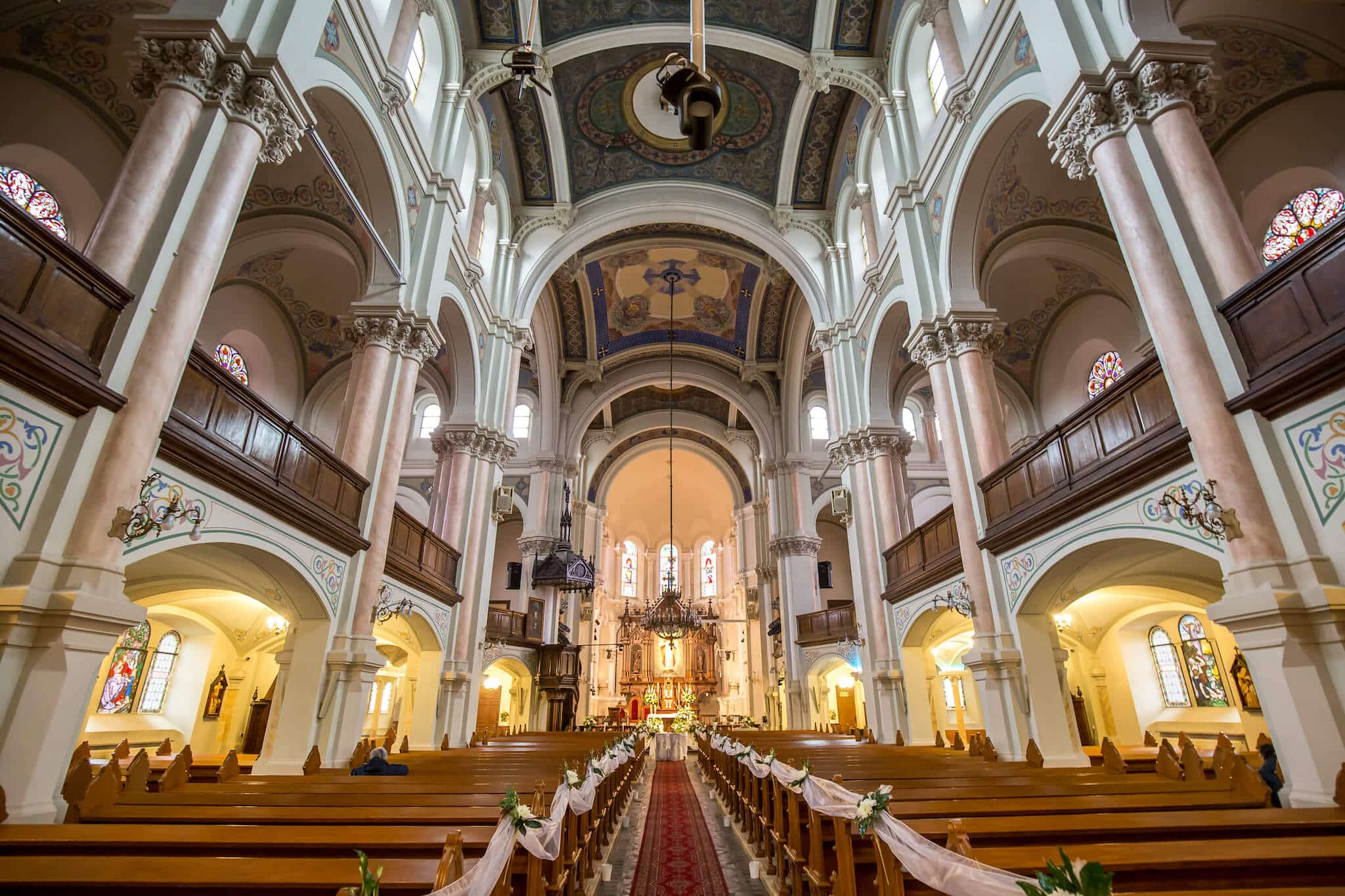Rozwiązania Roland w Kościele pw. Najświętszego Imienia Jezus w Łodzi