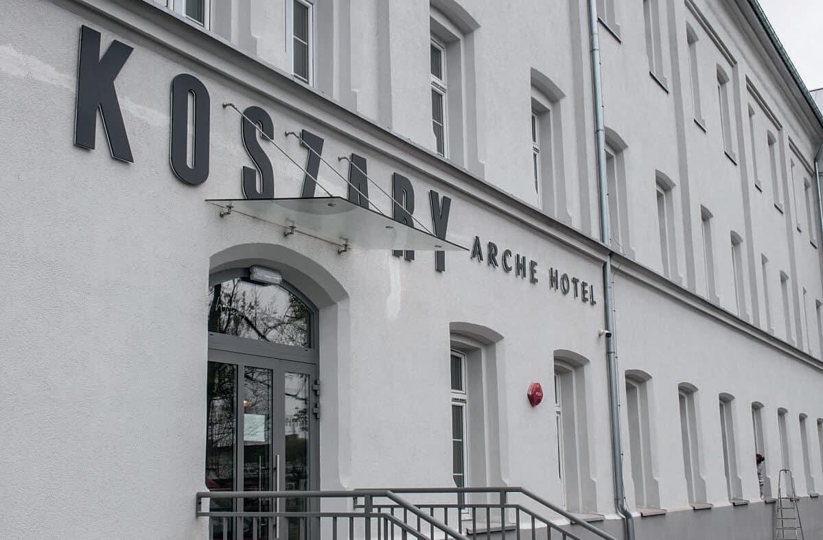 Apart Audio w Hotelu Koszary
