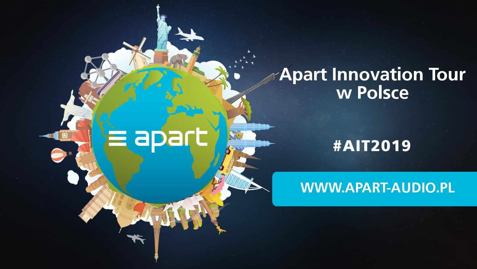 Apart Innovation Tour 2019 w Polsce