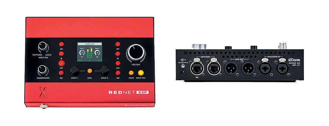 Focusrite Pro RedNet X2P