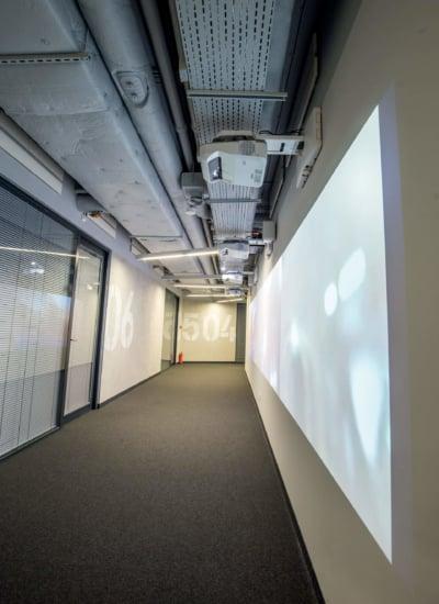 Projektory Epson w siedzibie Adidas Poland