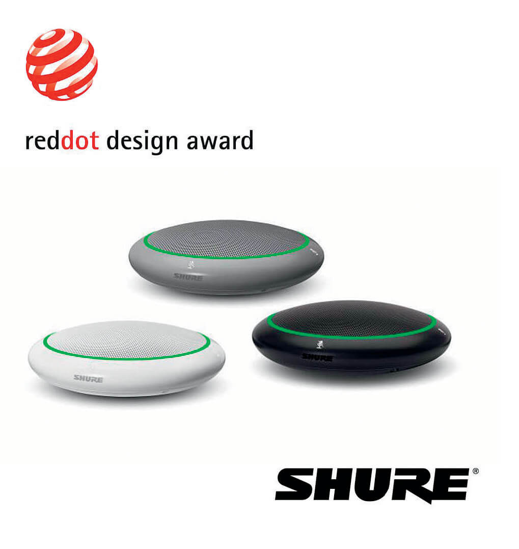 Shure zdobywa Red Dot Design Awards