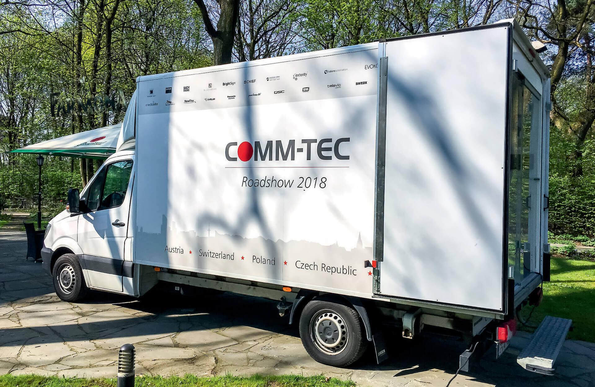 Comm-Tec Demo Van 2018