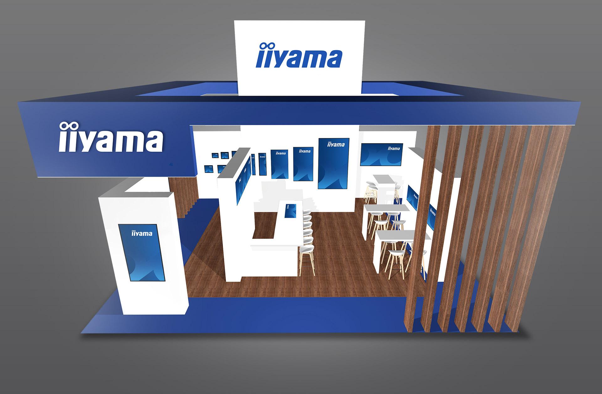 iiyama stand 8-G120 ISE