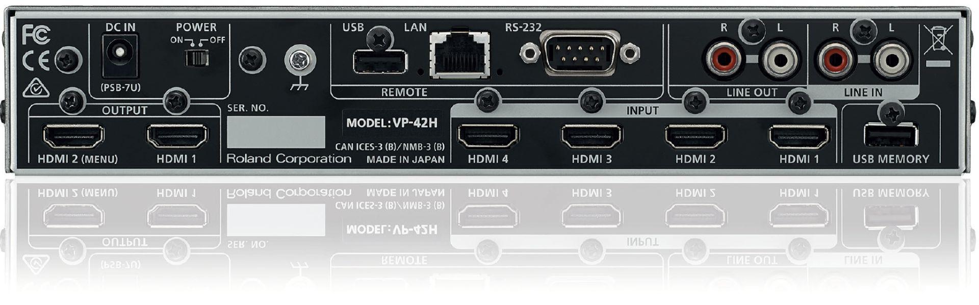 VP-42H Panel tylni