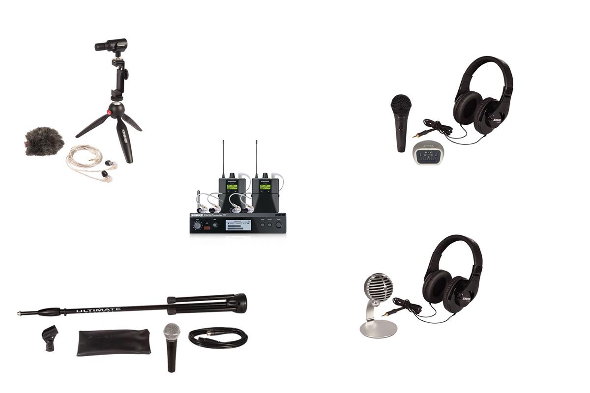 Świąteczne pakiety audio od Shure