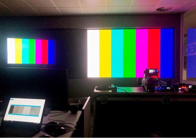 Ekran LED do studia TV