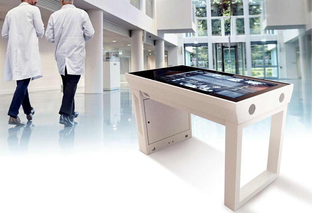 multimedialny stół dotykowy