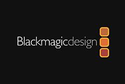 logo BLACKMAGIC DESIGN